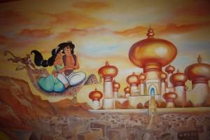 Shiraz falfestmény